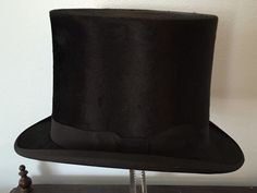 Antique Silk Top Hat Collins Fairbanks Boston Excellent | eBay