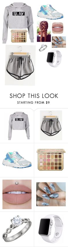 """Untitled #9"" by kelseybrom ❤ liked on Polyvore featuring NIKE and Apple"