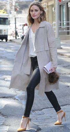 Nadire Atas on New York New York Olivia Palermo - April 2016 She always has it put together, the outfit I… Olivia Palermo Outfit, Estilo Olivia Palermo, Olivia Palermo Lookbook, Olivia Palermo Style, Fashion Mode, Look Fashion, Autumn Fashion, Fashion Outfits, Milan Fashion