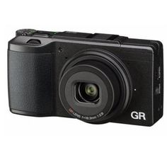 """Ricoh GR II Digital Point & Shoot Camera, 16.2MP, Full 1080p h.264 HD Video Recording, 3.0"""" Transparent LCD, USB, HDMI. The new  Ricoh GR II Digital Camera includes a 16 megapixel image sensor, pocket sized for ease of use, Wi-fi capabilities, high speed auto focus, full 1080p HD video recording and more. http://www.specssite.com/cameras-digital-cameras-digital-point-shoot-cameras/"""