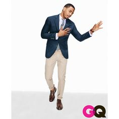 Trey Songz Gets Suited and Booted for GQ Magazine [PHOTOS] found on Polyvore