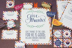 Free Thanksgiving Printable Collection