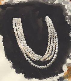 Pearls... the go-to jewelry for Classics...