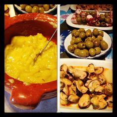 Alioli, comida catalana. (Catalan Dish)