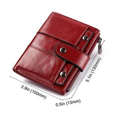 GZCZ Women Coin Purse Casual Genuine Leather Wallet sales at a good price. Come to Newchic to buy a wallet, more cheap women wallets are provided online. Small Leather Wallet, Leather Laptop Bag, Leather Keychain, Leather Purses, Leather Handbags, Purses And Handbags, Cheap Handbags, Luxury Handbags, Wholesale Handbags