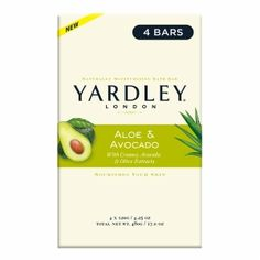Buy Yardley of London Naturally Moisturizing Bath Bar, Aloe & Avocado with free shipping on orders over $35, low prices & product reviews | drugstore.com