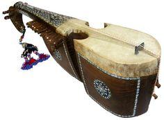 orient Afghan Musikinstrument  Robab Ruhbab Rebab Rubab afghanische volksmusik
