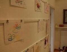 Kinderkunst gehört an die Wand ... Bilder,Bilderleisten,Kinderkunst