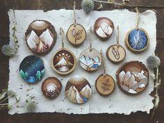 Рисунки на спилах деревьев — ArtWorlds