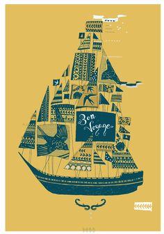 nautical design and organization : #art #drawings #ship