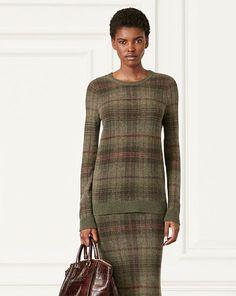 Tartan Cashmere Sweater - Collection Apparel Crewnecks & Tanks - RalphLauren.com