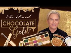 Meet the NEW Too Faced Chocolate Gold Collection with Jerrod Blandino - YouTube