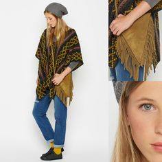 LOVING PONCHOS!!! #nicoli #nicolimoda #moda #fashion #awesome #cool #nice #lomas #ethnic #poncho #fashionable #warm #loveit #streetstyle #totallook #newcollection #autumn #winter   http://www.nicoli.es/tienda/PONCHO-ETNICO-ANTRACITA-108502-MA.html