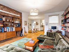 Living room bookshel