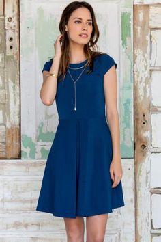 Everlee Solid Dress