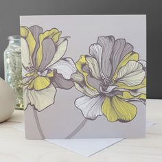 Image of 'Bridget Floral' Card by Ella Jane designs