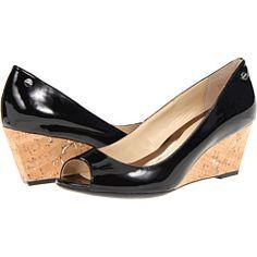 Womens Shoes Calvin Klein Shelley Black Patent