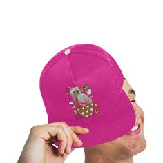 Coco All Over Print Snapback Hat
