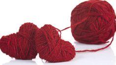 Woollen hearts