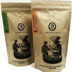 Fresh Roasted Coffee, Coffee Bags, Coffee Packaging, Coffee Roasting, Package Design, Beans, Food, Coffee Sacks, Coffee Sachets