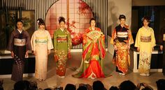 The kimono is a traditional Japanese dress, which in modern day is only worn to formal events such as weddings, funerals, and tea ceremonies.