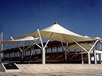 Tensile Membrane Structures : we specialize in complete buildings using a tensile membrane structures . It is most often used as a roof they can be alternate .