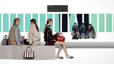 For the 2016 Spring/Summer Prada Real Fantasies, AMO graphically  reinterprets the Indefinite Hangar as a synthetic sunset fixed within a 3  dimensional blank space. The abstract hangar is populated with geometric objects and furniture.  Models move through a neutral scene between the undefined and distilled  fragments of daily life. The horizon and scale constantly shifts,  manipulating the frame and disrupting a linear sequence: an artificial  landscape where fiction and collection…