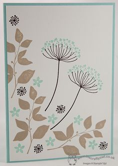 Help For Heroes Part Two - Summer Silhouettes Stampin Up, Joanne James Www.blog.thecraftyowl.co.uk
