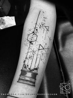 De l'Art ou Du Cochon - Nikos - tattoo graphique Paris