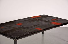 Mid-Century Tile Table by Pia Manu