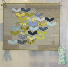 My favorite winner from QuiltCon 2013. Love the heart-ish birds!