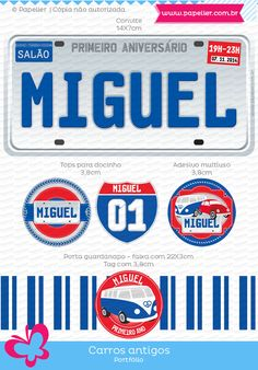 Carros antigos do Miguel