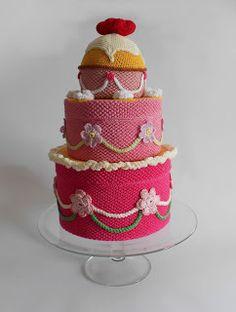stunning project! Wilma Strabello: Crochet Cake Design