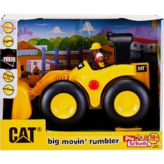 CAT BIG MOVIN' RUMBLER LÍNEA ORIGINAL CATERPILLAR