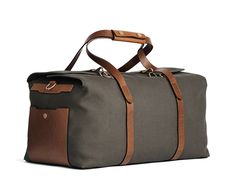 M/S Supply - Army/Cuoio - Travel bag - Mismo - 1