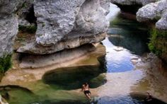 Piscina natural / natural pool  The Narrows - Knox Country - Texas - USA