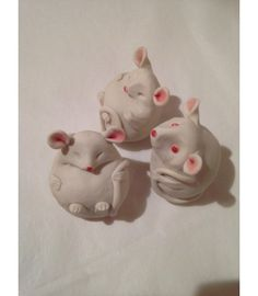 Animal Craft - The Cat and the Moon Three Blind Mice, Pottery Animals, Animal Crafts, Magical Creatures, Nursery Rhymes, Blinds, Third, December, Wildlife