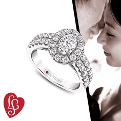 Just like love, this engagement ring never goes out of style.