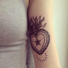 Heart Tattoo Ideas   POPSUGAR Beauty UK