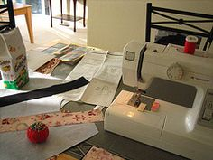 Sewing at home: you can save money, maybe make money, and be creative!