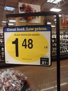 The person who tried to introduce these grapes to the market.   26 People Who Totally Managed To Mess Up Their One Job