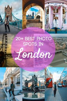 Looking for the best photo spots in London? You've just found them. Check out this guide and map to the 22 most Instagrammable places in London, so that you can go on your own self-guided tour of the UK's capital city and snap all the best photos to share on Instagram and make your friends jealous. #london #instagram #bestphotospot