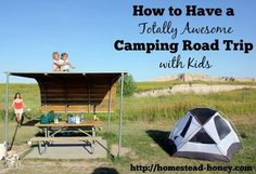 Going on a road trip with kids - even very young kids - can be a totally awesome experience! The key is to make it full of fun and adventures. My family has traveled across the country twice with our kids when they were ages 1 and 4, and 3 and 6. Here's how we had some of the best times of our lives in the car! | Homestead Honey