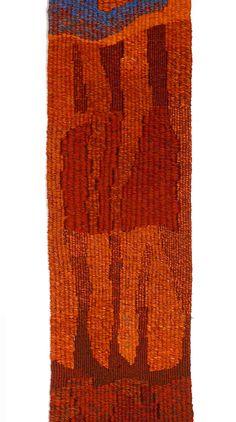 Mireille Guerin: jubilé-détail-600 Tapestry, 12m long x 27cm height.