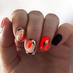 Nails Now, How To Do Nails, My Nails, Glow Nails, Pretty Nail Art, Cool Nail Art, Stylish Nails, Gorgeous Nails, Nail Arts