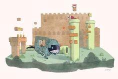 Mario & Shadow of the Colossus Mashup by Jason Lupas