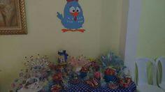 Mesa de doces, festa infantil