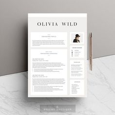 Creative Black Graphic Elegant Resume Template Cv By Hellocareer