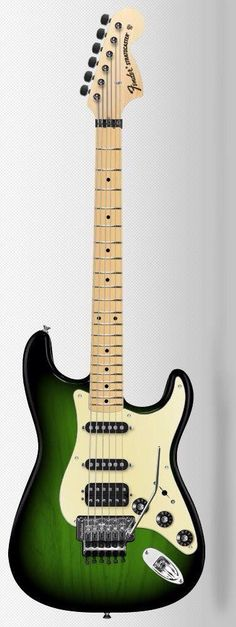 Fender Stratocaster w/floyd rose!! Such a beautiful guitar