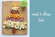 Meat & Cheese Tree Platter Decorate your meat & cheese plate into the shape of a tree to celebrate this holiday season! Easy Holiday Recipes, Easy Recipes, Easy Meals, Meat And Cheese, Cheddar Cheese, Cheese Tree, Cherry Tomatoes, Platter, Breakfast